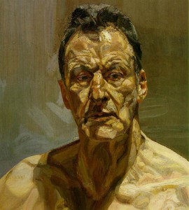 Self portrait Lucien Freud